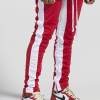 Jenner Track Pants (Red/White) – Lifted Anchors