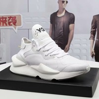 y3  Men Casual Shoes Boots  fashionable casual leather