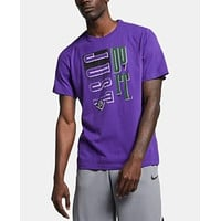 Nike Mens Dri-fit Graphic Basketball Shirt