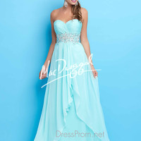 Strapless Sweetheart Formal Prom Gown By Mac Duggal Flash 65110L