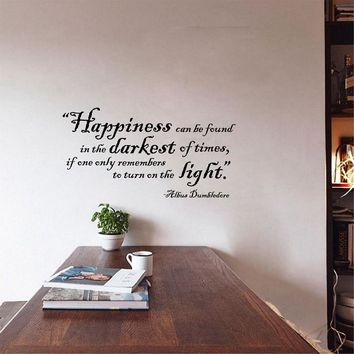 Free Shipping Harry Potter Wall Quote Sticker For Kids - Vinyl wall art decals Harry Potter