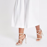 White barely there sandals - Sandals - Shoes & Boots - women