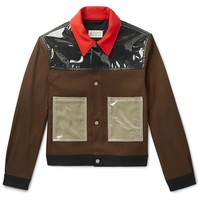 PVC Panel Trucker Jacket by Maison Margiela