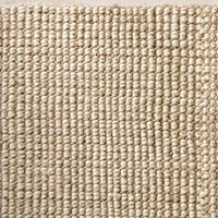 Chunky Wool & Jute Rug - Natural