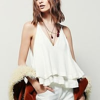 Free People Womens Take A Chance Top