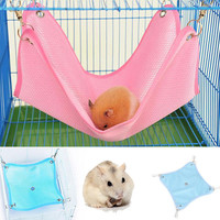 Bed Net Cloth House Cage Hanging Hammock Mat Rat Ferret Hamster Mouse Cute Plush Warm Hammock Hanging Bed Cave For Hamster PTSP