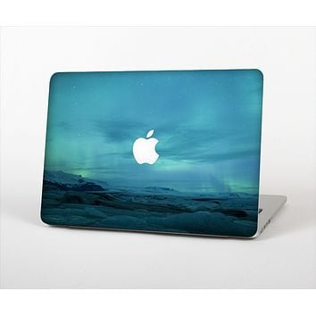 "The Teal Northern Lights Skin Set for the Apple MacBook Pro 15"" with Retina Display"