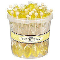 50 Honey and Lemon Tea Spoons individually wrapped teaspoons