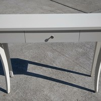 #2506 - Hall/Sofa Table - White