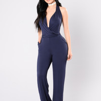 Cop That Foreign Jumpsuit - Navy