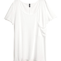 H&M - T-shirt with Chest Pocket