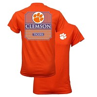 Southern Couture South Carolina Clemson Tigers Classic Preppy T-Shirt