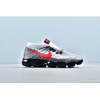 Nike Air VaporMax Black White Grey Red Toddler Kid Running Shoes Child Sneakers - Best Deal Online