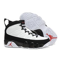 Nike Air Jordan 9 Retro Black/white Men Sneaker Shoe Size Us 8 13 | Best Deal Online