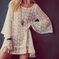 Hippie Bell Sleeves Shirt