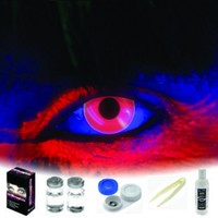 EDIT Dark Red Coloured Contacts (Kit)