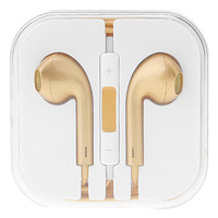 Polished Gold Earbuds