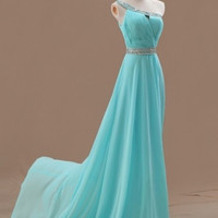 long dress one shoulder dress cocktail dress sleeveless dress sexy dresses party dresses evening dress prom dresses formal elegant plus size modest dress for wedding dresses fashion dresses new 2014 = 1956769220