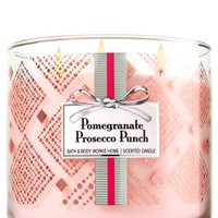 3-Wick Candle Pomegranate Prosecco Punch