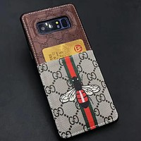 Perfect Gucci Fashion  Phone Cover Case For Samsung  s8  s8+ s9  s9+ note 8 iphone 6 6s 6plus 6s-plus 7 7plus 8 8plus X