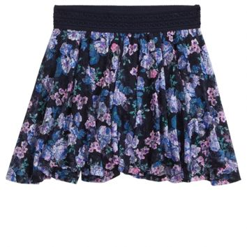 PRINTED LACE SKIRT   GIRLS NEW MARKDOWNS SALE   SHOP JUSTICE