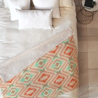 Pattern State Tile Tribe Southwest Fleece Throw Blanket