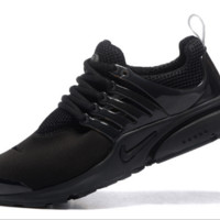 NIKE trend of running shoes casual shoes Black