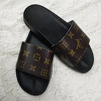 LV Louis Vuitton Women Fashion Sandals Slippers Shoes