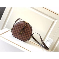LV Louis Vuitton Women's Leather Shoulder Bag Satchel Tote Bags Crossbody 22*22.5*8cm