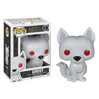 Game of Thrones Ghost Exclusive Pop! Vinyl Figure Dc Comics Urban GOT
