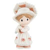 Disney Parks Mary Poppins Porcelain Figure by Precious Moments New with Box