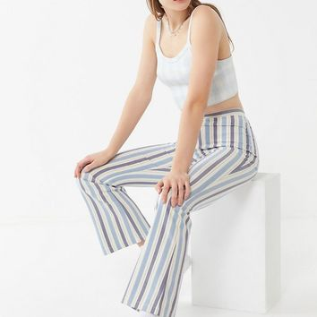 UO Cass Zip-Front Flare Pant | Urban Outfitters