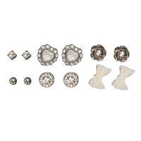 6 On Shimmer Earring Set | Shop Jewelry at Wet Seal