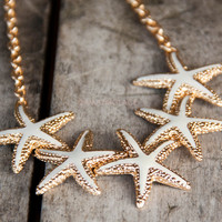 Clearwater Starfish Cluster Necklaces
