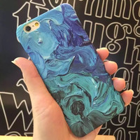 Color Painting Cute Case for iPhone