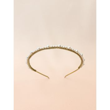 String of Pearls | handmade pearl headband