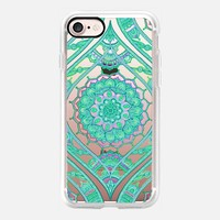 Radiant Boho Emerald Lace iPhone 7 Case by Micklyn Le Feuvre | Casetify