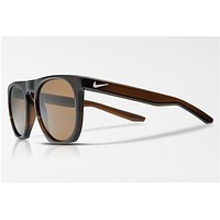 Nike - Flatspot Brown Sunglasses, Brown Polarized Lenses