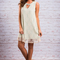 Dreamy Date Night Dress, Mint