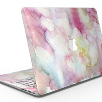 Light Pink 33 Absorbed Watercolor Texture - MacBook Air Skin Kit