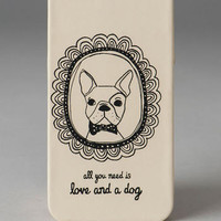 FRAMED DOG IPHONE 5 CASE