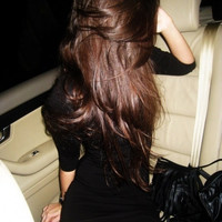 """DOUBLE SET - 24"""" Inch Chocolate Brown Clip In Hair Extensions - 200 grams"""
