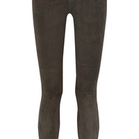 Rag & bone - RBW 23 stretch-suede skinny pants
