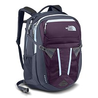 Women's Recon Backpack in Blackberry Wine/Chambray Blue by the North Face
