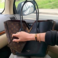 Louis Vuitton LV Hot Sale Classic Printed Letters Color Blocking Women Shopping Handbags Shoulder Bags Messenger Bags