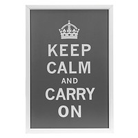Keep Calm And Carry On     Z Gallerie