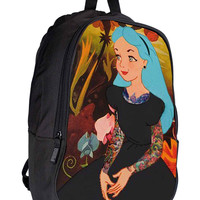 Punk Alice 2984f2a6-b4b3-43c3-b6c8-600fcb45477f for Backpack / Custom Bag / School Bag / Children Bag / Custom School Bag *02*