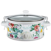 Pioneer Woman 6 Quart Portable Slow Cooker Country Garden | Model# 33364 By Hamilton Beach - Walmart.com