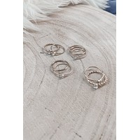She's A Ten Gold Layered Ring Set