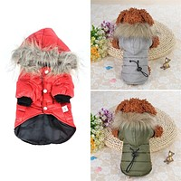 Soft Fur Small Large Puppy Hoodie